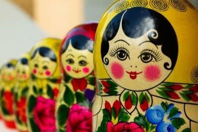 Matryoshka Russian Dolls