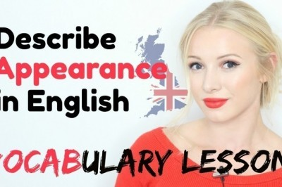 How to describe Appearance in English
