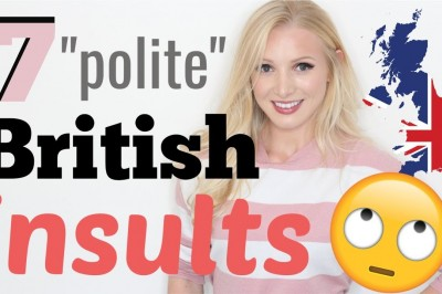 7 'polite' British insult idioms | Politely call someone a total idiot!