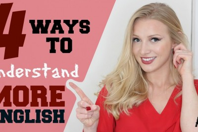 4 Steps to Easily Understand English | Improve English Listening Skills