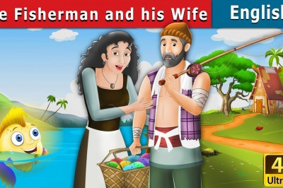 The Fisherman and His Wife | Bedtime Stories | My Pingu Tv