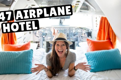 747 Airplane Hotel - World's coolest hotel