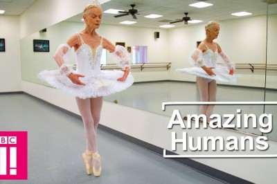 The 77 year old Ballet Dancer sharing seven decades of experience