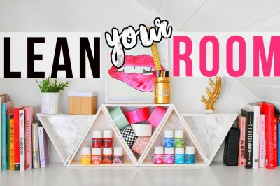 Clean your room - 8 New DIY Organisations Tips
