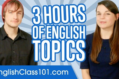 Learn English in 3 Hours